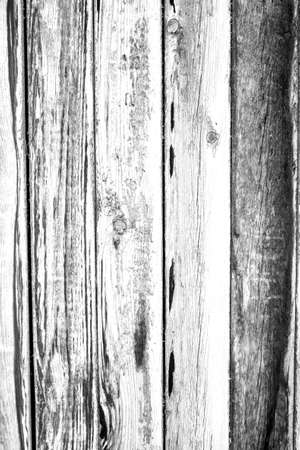 Vertical fence boards wooden surface for making brush