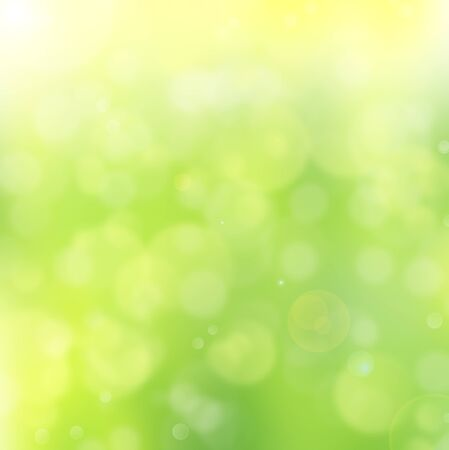 abstract background bokeh green color Stock Photo