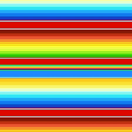 Mexicaanse deken naadloze patroon Stock Illustratie
