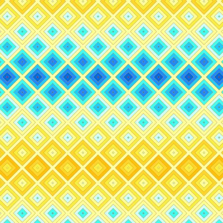 Colorful ethnic mosaic seamless background Vector