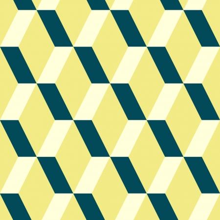 Geometric illusion seamless pattern,  Vector