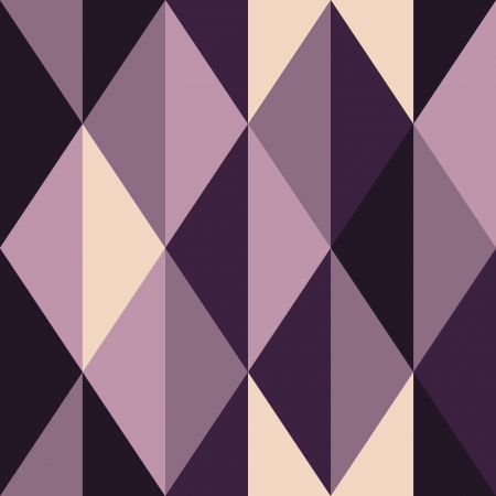 rhombus: Violet abstract seamless background, vector