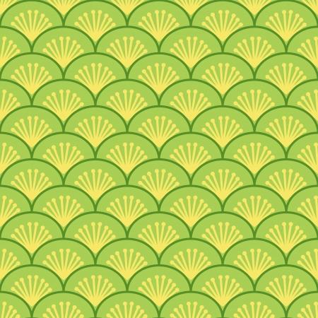 indische muster: Japanische Wellen traditionellen nahtlose Muster, Vektor
