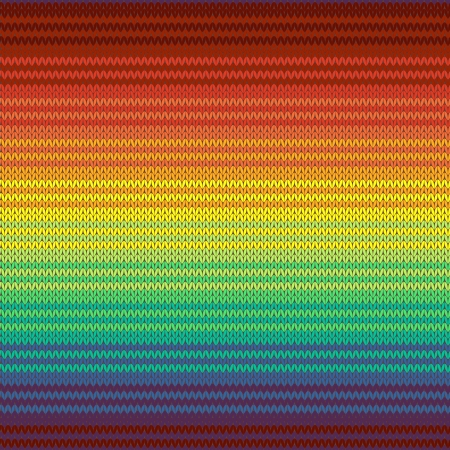 Gestrickte mexican blanket nahtlose patter Vektorgrafik