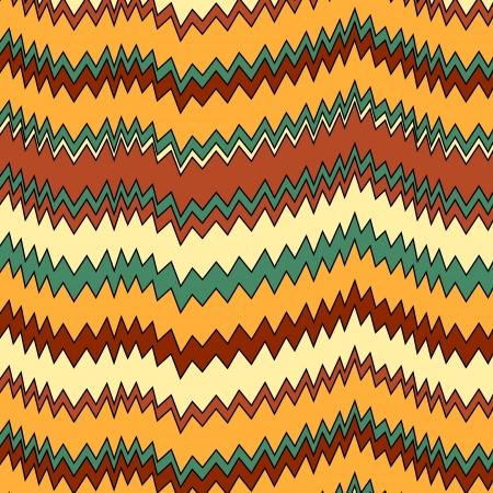화려한 지그재그 원활한 패턴