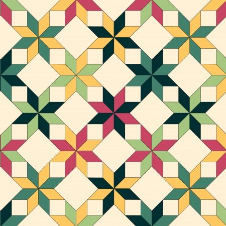 quilt: Quilt seamless pattern