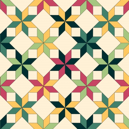 Quilt seamless pattern