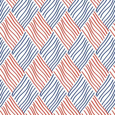 Rhombus seamless pattern, vector
