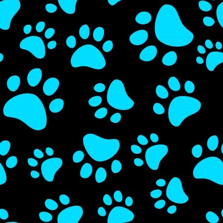 huellas de animales: Cat golpeteo huella perfecta
