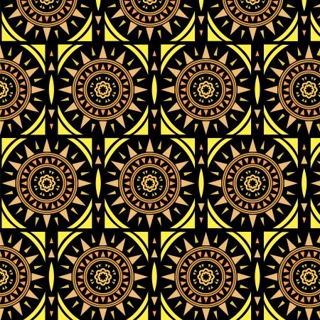 piso negro: Marroqu� azulejo incons�til del modelo solar,