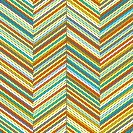 Chevron geometric seamless pattern Stock Vector - 16134953