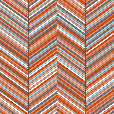 Chevron geometric seamless pattern Illustration