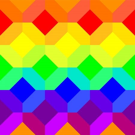 extremely: Abstract geometric extremely colorful seamless pattern, vector