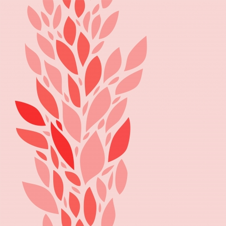 Delicate pink leaves spring floral seamless background Stock Vector - 18271058