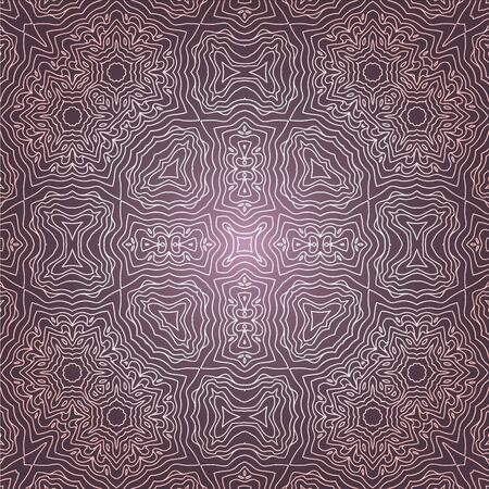 Abstract ethnic purple seamless pattern Vector