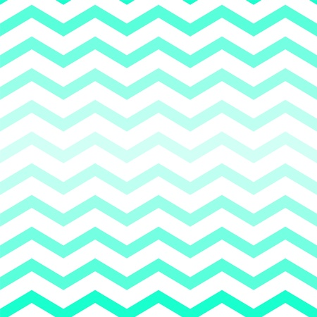 zag: Shades of neon green chevron seamless pattern on white