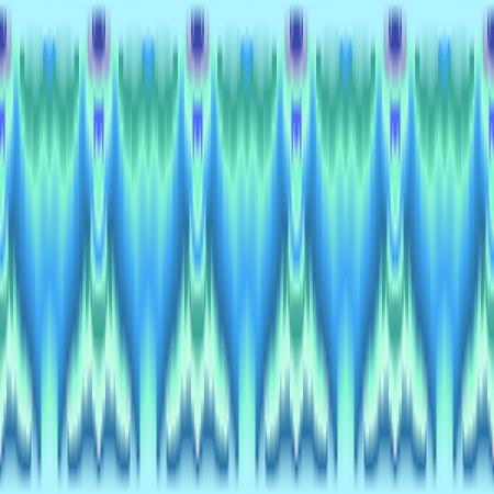 파란색과 녹색 다채로운 민족 원활한 패턴