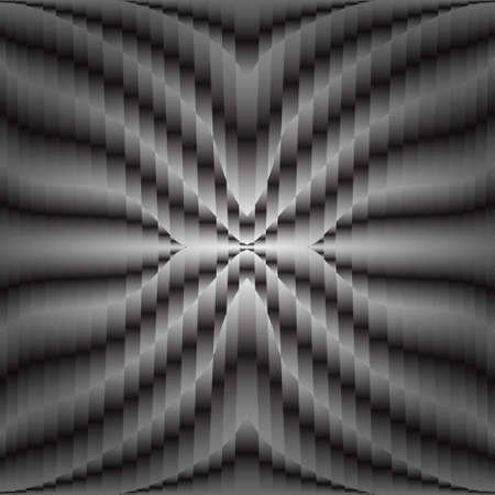 Futuristic black and white abstract geometric background, vector