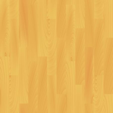 Realistic wooden flooring seamless pattern, vector