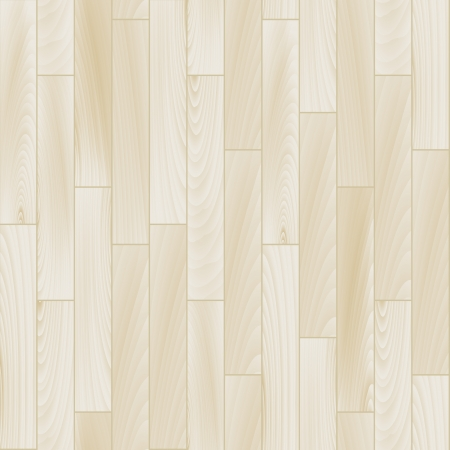 Realistic white wooden floor seamless pattern, vector