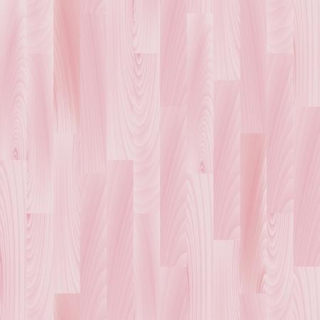 パステル ピンクの現実的な木製の床のシームレスなパターン、ベクトル  イラスト・ベクター素材