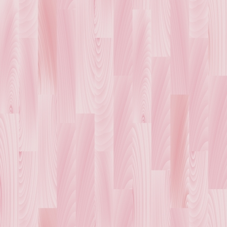 Realistic pastel pink wooden floor seamless pattern, vector Vector