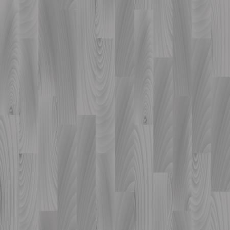 Realistic gray wooden floor seamless pattern, vector Vector