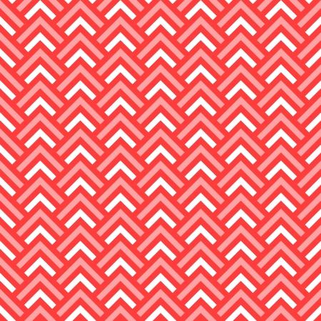 zag: Pink and white chevron geometric seamless pattern, vector