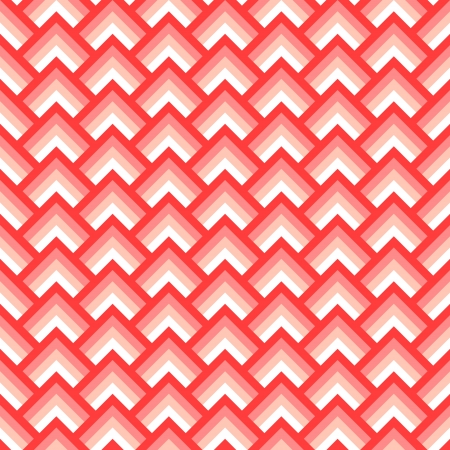 a pink cell: Pink and white chevron geometric seamless pattern, vector