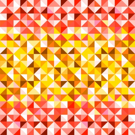 transition: Colorful red and yellow abstract geometric seamless pattern