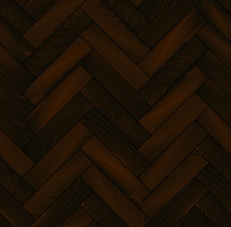flooring design: Dark wooden floor realistic chevron parquet seamless  Illustration