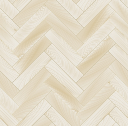 Realistic white wooden floor chevron parquet seamless pattern
