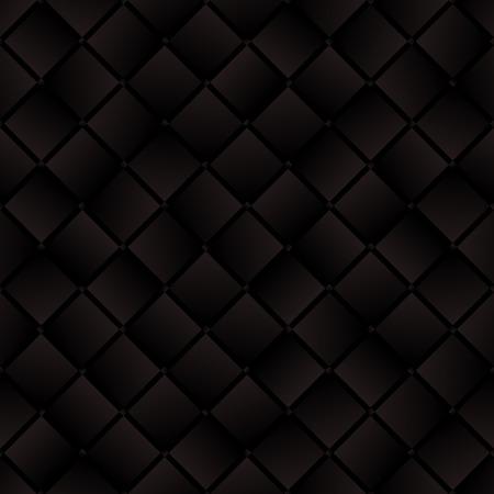 morenas: cuadrados tejidas de color marrón oscuro sin patrón geométrico Vectores