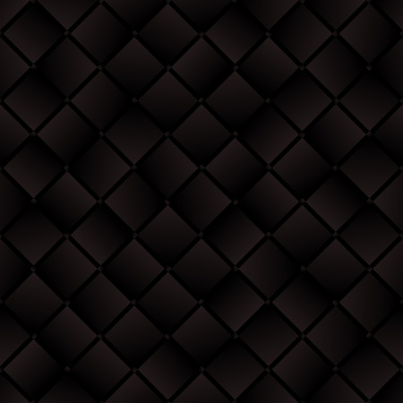 weaved: Dark brown weaved squares geometric seamless pattern Illustration