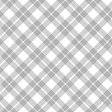 monochrome: Black and white checkered geometric seamless pattern, background