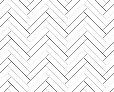 검은 색과 흰색 간단한 나무 바닥 헤링본 마루 원활한 패턴 배경 일러스트