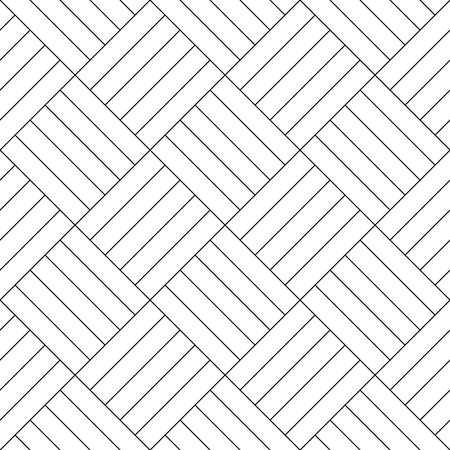 black floor: Black and white simple wooden floor parquet seamless pattern background