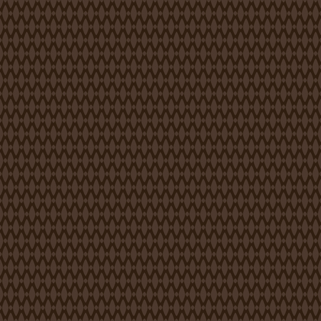 Dark brown textured rug woven fabric seamless pattern, vector