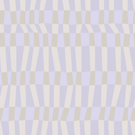 Gray and blue neutral colored chaotic striped geometric seamless pattern, vector Vettoriali