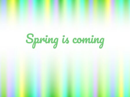 Blue green and yellow beams vibrant colorful abstract spring is coming background, horizontal template for a banner, poster, card, flyer, backdrop