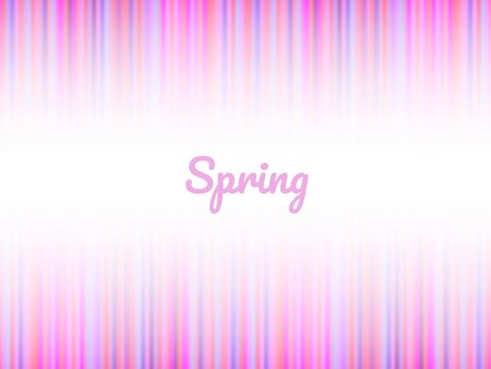 Pink and white beams vibrant colorful abstract spring background, horizontal template for a banner, poster, card, flyer