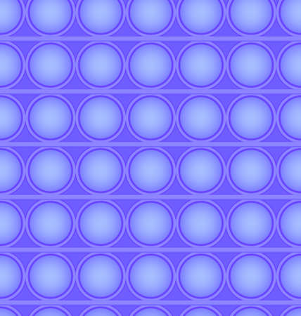 Pop-it viral fidget toy blue seamless pattern, vector