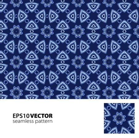 Pattern_blue Vector