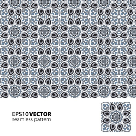 Black-white pattern_8 Illustration