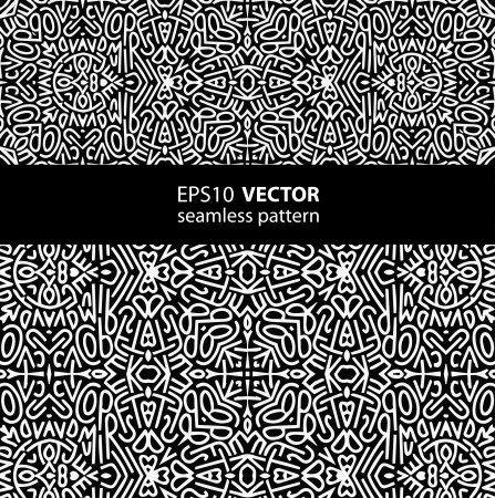 black-white pattern_1 向量圖像