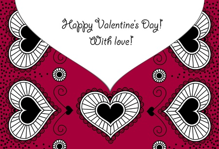 Card_Happy Valentine s Day Illustration