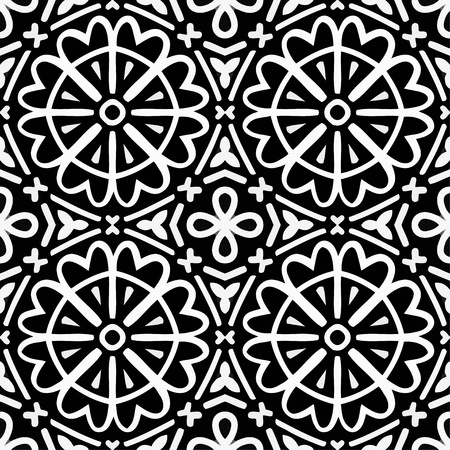 Monochrome pattern_4 Vector