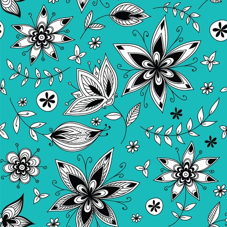 Floral seamless pattern_2 Vector