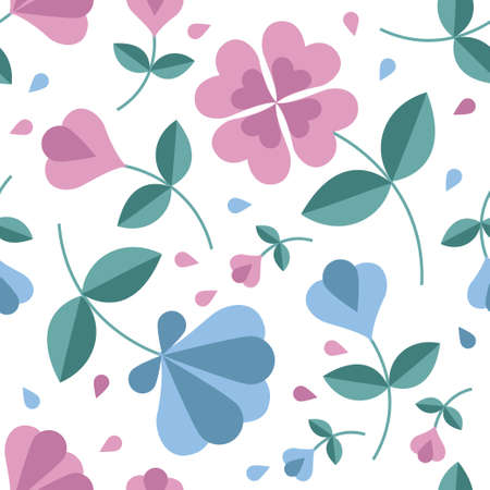 Seamless flower pattern Stock Vector - 17804427