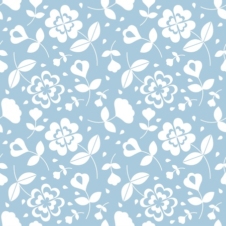 Seamless flower pattern Stock Vector - 17804396